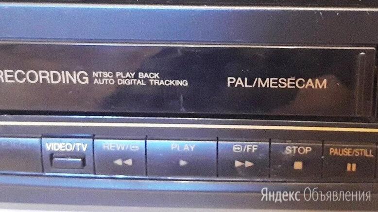 Видеоплейеp Panasonic для видеокассет типа VHS  марка NV-P03RAM Малайзия по цене 2000₽ - Видеомагнитофоны, фото 0