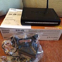 Проводные роутеры и коммутаторы - Wi-Fi Router D-link DSL-2640U, 0