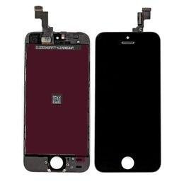 Дисплеи и тачскрины - Дисплеи для Iphone 5, белый, черный(ААА+), 0