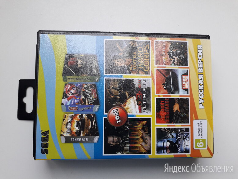 Картриджи игровым приставкам sega и денди по цене 700₽ - Игры для приставок и ПК, фото 0