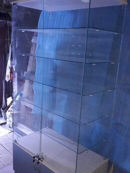 Витрины - Стильная витрина из стекла со шкафчиком 1шт, 0
