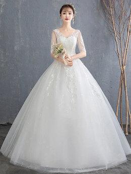 Платья -  Новое Романтическое Элегантное свадебное платье , 0