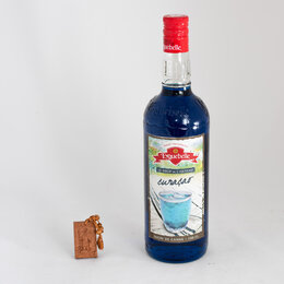 Продукты - Сироп Eyguebelle Блю Кюрасао, (Blue Curacao), 1 л, 0