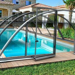 Павильоны для бассейнов - Павильон для бассейна Albixon KLASIK Clear B (4 секции), 0