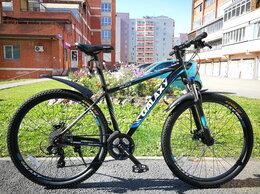 Велосипеды - Новый велосипед Galaxy ML235 - черный/синий, 0