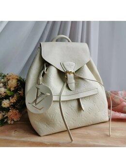 Рюкзаки - Рюкзак Louis Vuitton белый женский кожа новый, 0