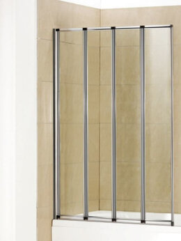 Шторы и карнизы - Стеклянная шторка на ванну Welt-Wasser WW 100ZA4…, 0