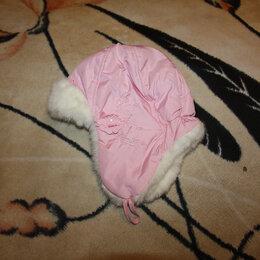 Головные уборы - Шапка зимняя на девочку 3-4 лет, 0