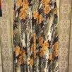 Длинная летняя юбка с цветочным рисунком, р.42-46 по цене 500₽ - Юбки, фото 1