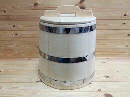 Бочки, кадки, жбаны - Кадка из кедра 25 л обручи из нержавеющей стали, 0