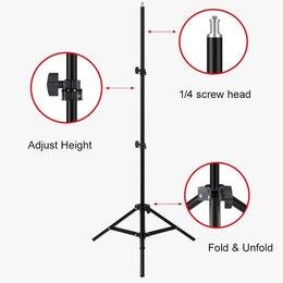 Штативы и моноподы - Штатив для кольцевой лампы   2,1 метра (172735), 0