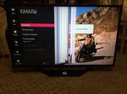 Телевизоры - №262` LG 43LH510V-ZA,матрица повреждена, на…, 0