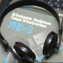 Наушники и Bluetooth-гарнитуры - Yamaha YHD-3 Orthodynamic Headphones, 0