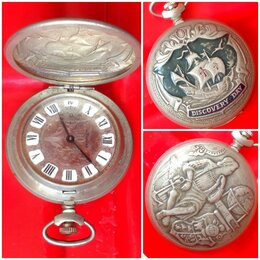 Другое - СССР Часы Молния Христофор Колумб, 0