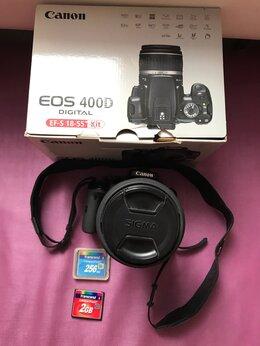 Фотоаппараты - Зеркальный фотоаппарат canon eos 400D, 0