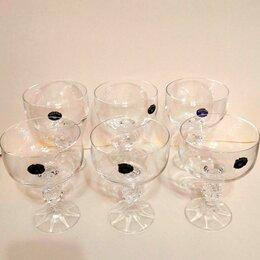 Бокалы и стаканы - Креманки - бокалы Богемия, 6 штук, 0