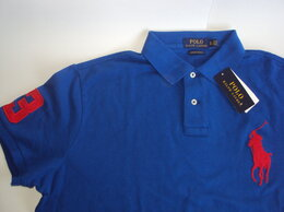Футболки и майки - Поло Polo Ralph Lauren размер XL Blue, 0