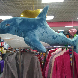Мягкие игрушки - Акула, 0