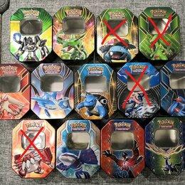 Коллекционные карточки - Коробка для хранения карточек Покемонов, 0