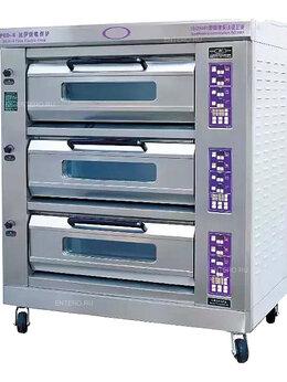 Жарочные и пекарские шкафы - Шкаф жарочный Kocateq EFO6C, 0