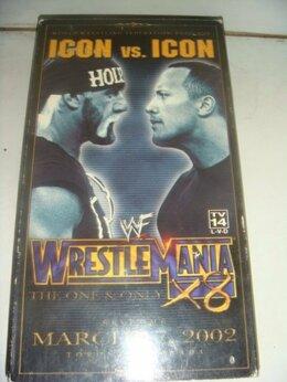 Видеофильмы - Фильм VHS Wrestlemania 2002 год на англ языке, 0