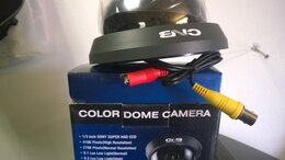 Видеокамеры - Камера цветная, 0