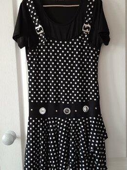 Платья - Новое платье в горошек, размер 44-46, 0