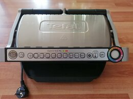 Электрические грили и шашлычницы - Продам электогриль Tefal OptiGrill+XL, 0