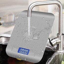 Кухонные весы - Новые Кухонные весы до 10кг, водозащищëнные, очень точные, 0