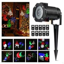 Интерьерная подсветка - Лазерный проектор Christmas led projector light, 0