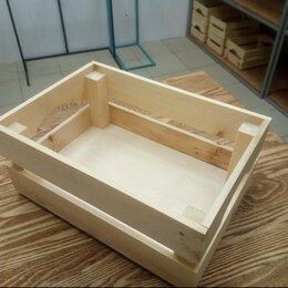Корзины, коробки и контейнеры - Деревянный ящик для подарка, 0