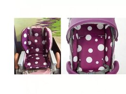 Стульчики для кормления - Новая вкладка - чехол для стула, коляски (фиолет), 0