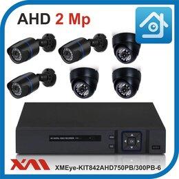 Готовые комплекты - Комплект видеонаблюдения на 6 камер XMEye, 0