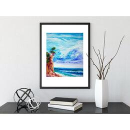 """Картины, постеры, гобелены, панно - Картина """"Пляж Голубая бездна"""", 0"""