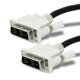 Компьютерные кабели, разъемы, переходники - кабель DVI 1,8м, 0