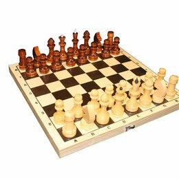 Настольные игры - Шахматы 290х145х38 Обиходные 1/10, 0