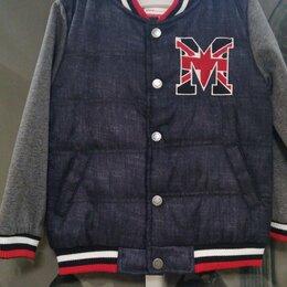 Куртки и пуховики - Бомбер для мальчика Playtoday, р.104 - 110 (новый), 0