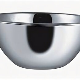 Тарелки - Миска 1,5 л.d=22 см. нерж. Appetite (Китай), 0