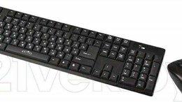 """Комплекты клавиатур и мышей - Клавиатура и мышь """"Оклик""""(Беспроводная.новая), 0"""