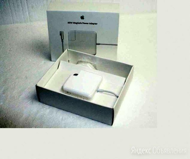 Зарядка MacBook 60W MagSafe 16.5V 3.65A Новая по цене 1500₽ - Аксессуары и запчасти для ноутбуков, фото 0