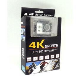 Видеокамеры - Экшн CAMERA 4K SPORT ULTRA HD WIFI можно снимать под водой 30м, 0