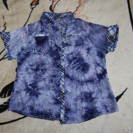 Блузки и кофточки - Рубашка женская летняя размер 54 короткие рукава, 0