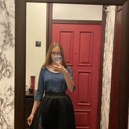 Юбки - Чёрная юбка LOVE REPUBLIC XS-S, 0
