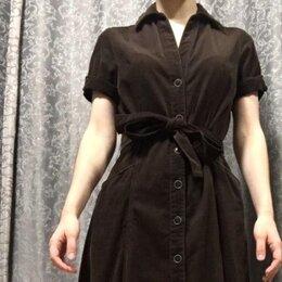 Платья - Платье вельветовое, 0