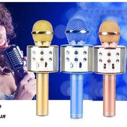 Микрофоны - Беспроводной караоке микрофон WS-858, 0