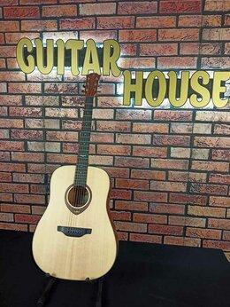 Акустические и классические гитары - Трансакустическая гитара Flight AD-555 / NA, 0