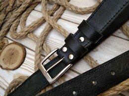 Ремни и пояса - Ремень мужской кожаный , 0