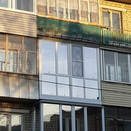 Архитектура, строительство и ремонт - Французское остекление балкона в хрущевке, 0