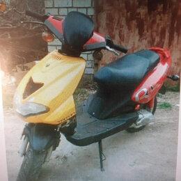 Мототехника и электровелосипеды - Triton Vento Red Yellow Fire, 0