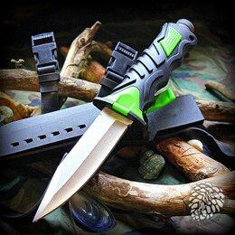 Ножи и мультитулы - Нож для дайвинга Stainless Trapper Green, 0